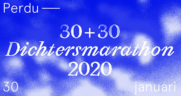 Dichtersmarathon literair theater perdu amsterdam 2020